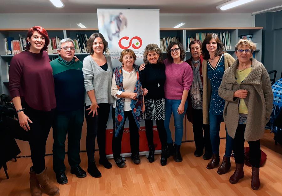 Junta de Gobierno del Colegio Oficial de Trabajo Social de Navarra
