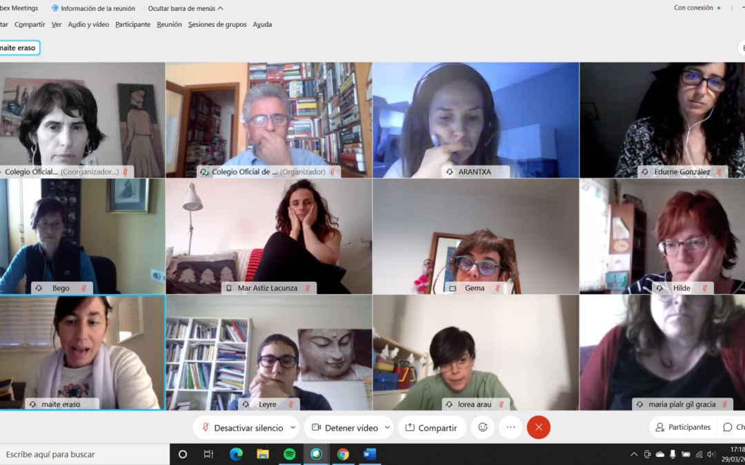 Reunión informativa con los/as mediadores/as del COTSN